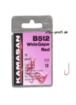 Kamasan B 512 Wide Gape Red/Nickel