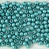 100 Stück Round Beads 3mm, Saturated Metallic Island Paradise