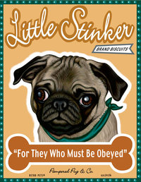 T 107 Little Stinker Pug