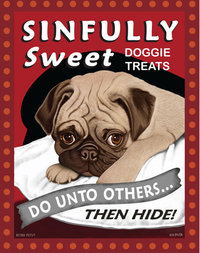 T 113 Sinfully Sweet Pug