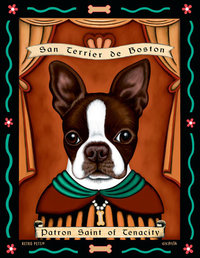 P 159 Boston Terrier