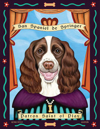 P 179 Springer Spaniel Brown