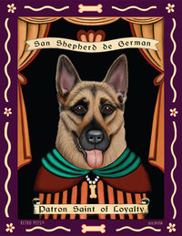 P 141 German Shepherd Dog