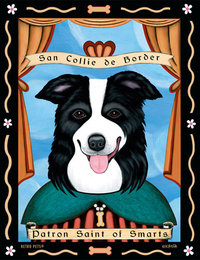 P 199 Border Collie