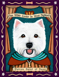P 127 West Highland White Terrier