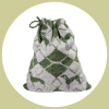 deer diamond hound bag large