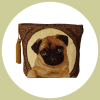 iosis cosmetic bag pug