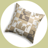gameboard pillow sandstone
