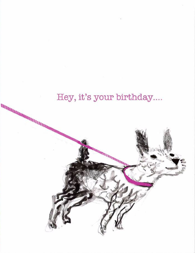 Hey, it's your birthday...