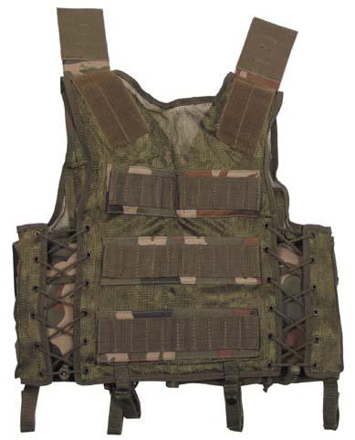 Тактический жилет размер регулируется камуфляж woodland Stalker military style.