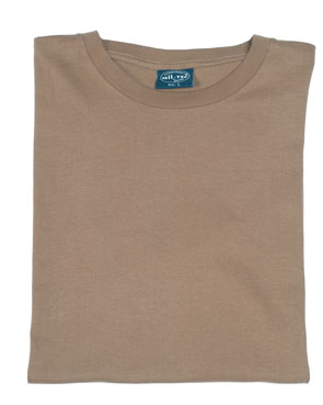 3er Pack T - shirt braun