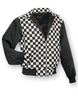 Harringtonjacke punk weiss