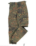 Kids Zip-Hose flecktarn