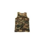 US Tarn-Tank-Top, woodland, 160g/m²