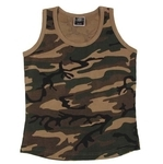 US Tank Top, Damen, woodland