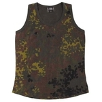 BW Tank Top, Damen, flecktarn