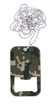 Dog Tag Flaschenöffner Digital Camo