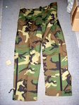 US Army Goretex Hose neu woodland