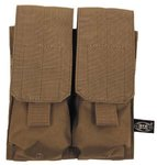 "Magazintasche doppelt,""MOLLE"", Modular System, coyote tan"