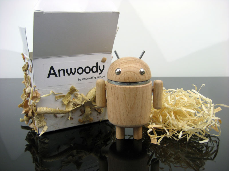 AndroidFiguren.de Anwoody Beech Bio Android made by Nature curved out by hand