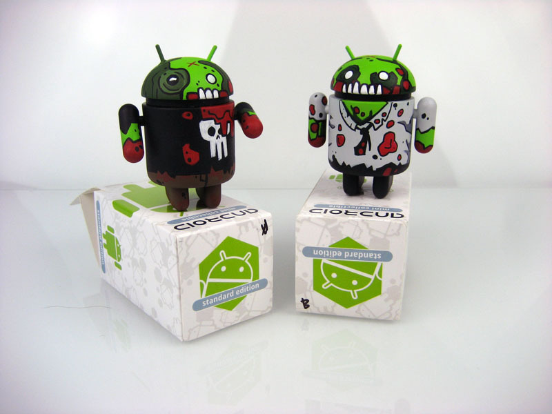 Mostly Harmless Undead Custom Android Atticus by Paul Robinson