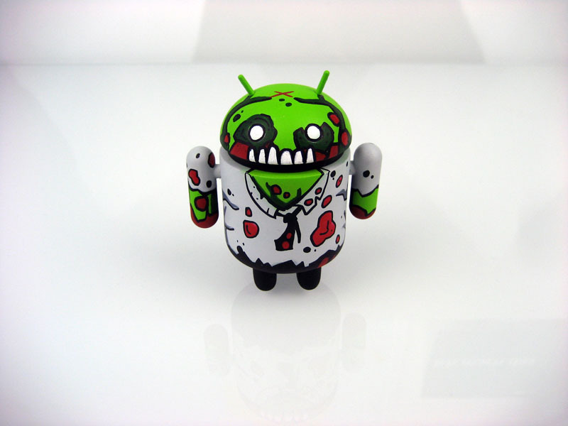 Mostly Harmless Undead Custom Android Byron by Paul Robinson