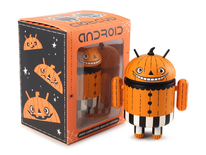 Andrew Bell Android Mini Collectible Special Halloween 2013 Edition Trickertreat