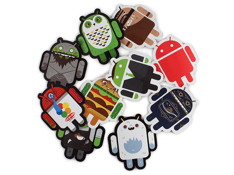 Android-Foundry Sticker Pack B