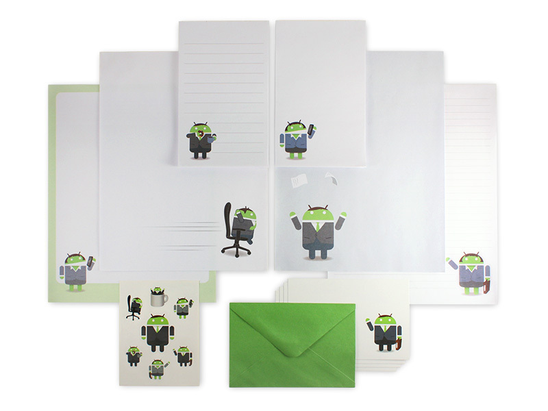 Android Foundry Stationary Set Businesstime