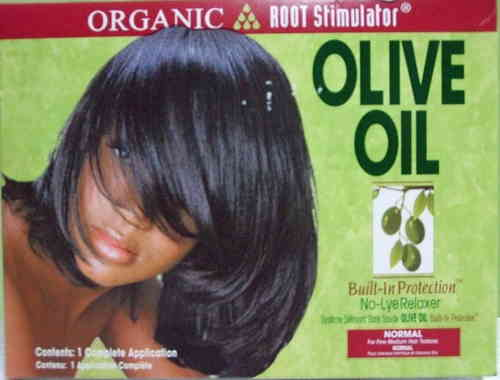 Organic Root Stimulator - Olive Oil NoLye Relaxer – Normal