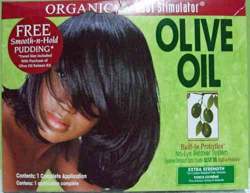Organic Root Stimulator - Olive Oil NoLye Relaxer - Strength