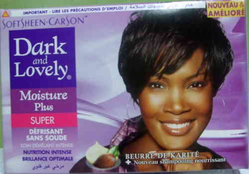 Dark and Lovely Relaxer System Super