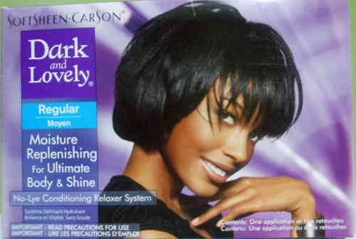 Dark and Lovely Relaxer System Regular