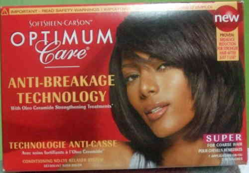 Softsheen Carson Condition No Lye Relaxer Super