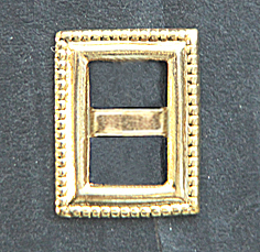 buckles metal rectangular - 8pc.