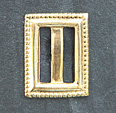 buckles metal rectangular - 8 pc.
