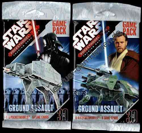 Star Wars PocketModel: Ground Assault, Booster Pack