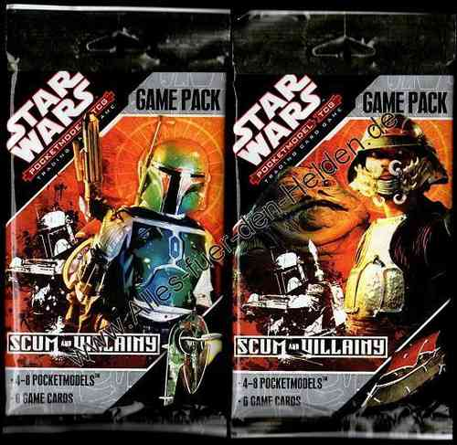 Star Wars PocketModel: Scum and Villainy, Booster Pack