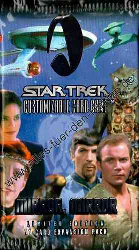 Star Trek CCG: Mirror, Mirror, Booster Pack, Limited Edition