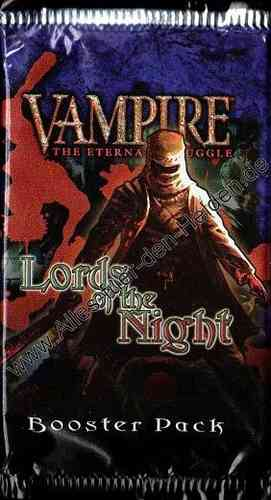 Vampire CCG: Lords of the Night, Booster Pack