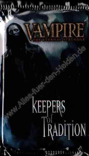 Vampire CCG: Keepers of Tradition, Booster Pack