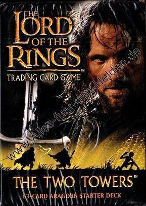 The Lord of the Rings TCG: The Two Towers, Aragorn Starter Deck