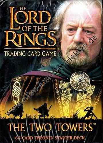 The Lord of the Rings TCG: The Two Towers, Theoden Starter Deck