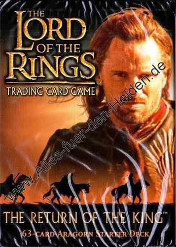 The Lord of the Rings TCG: The Return of the King, Aragorn Starter Deck
