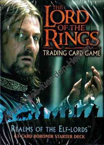 The Lord of the Rings TCG: Realms of the Elf-lords, Boromir Starter Deck