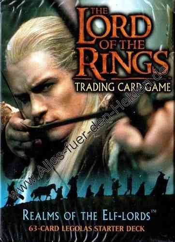 The Lord of the Rings TCG: Realms of the Elf-lords, Legolas Starter Deck