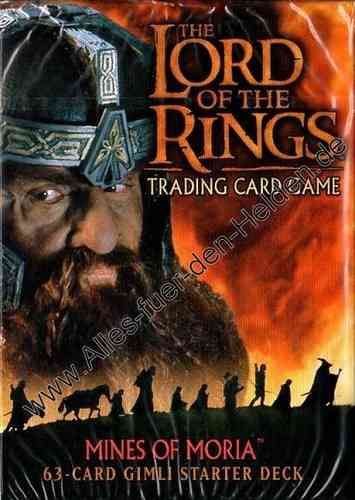 The Lord of the Rings TCG: Mines of Moria, Gimli Starter Deck