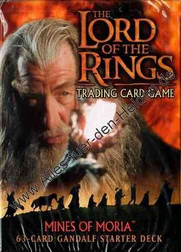 The Lord of the Rings TCG: Mines of Moria, Gandalf Starter Deck