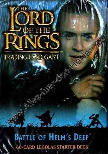 The Lord of the Rings TCG: Battle of Helm's Deep, Legolas Starter Deck