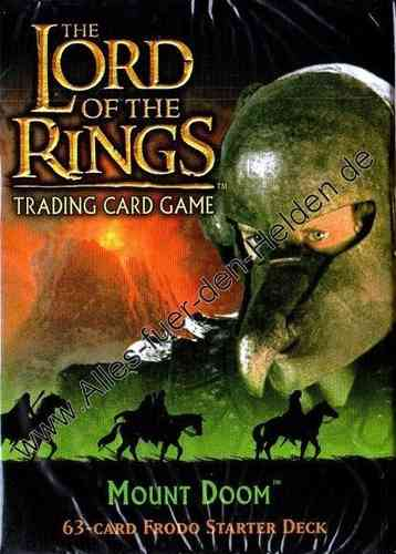 The Lord of the Rings TCG: Mount Doom, Frodo Starter Deck